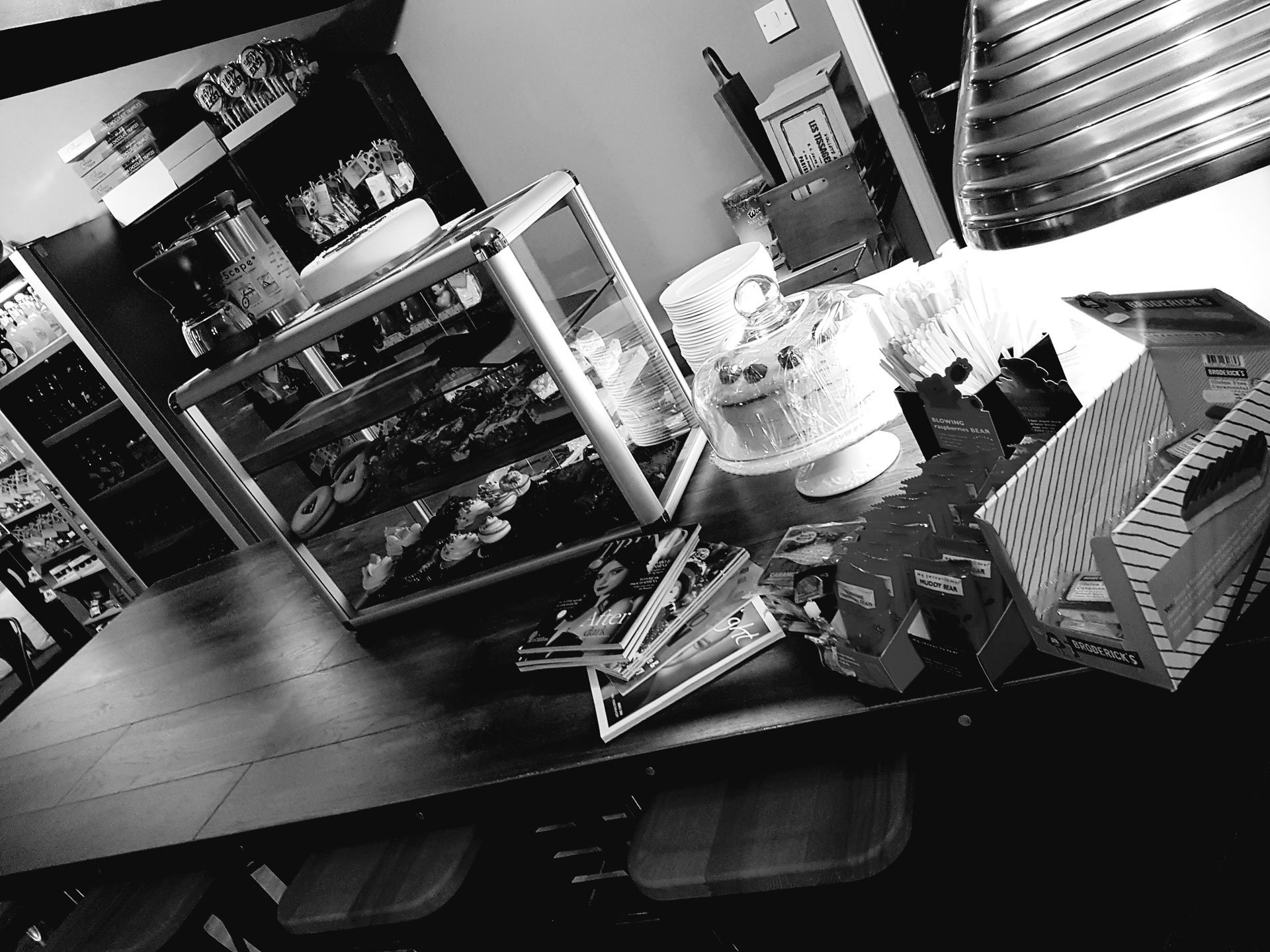 bar view inside the shop