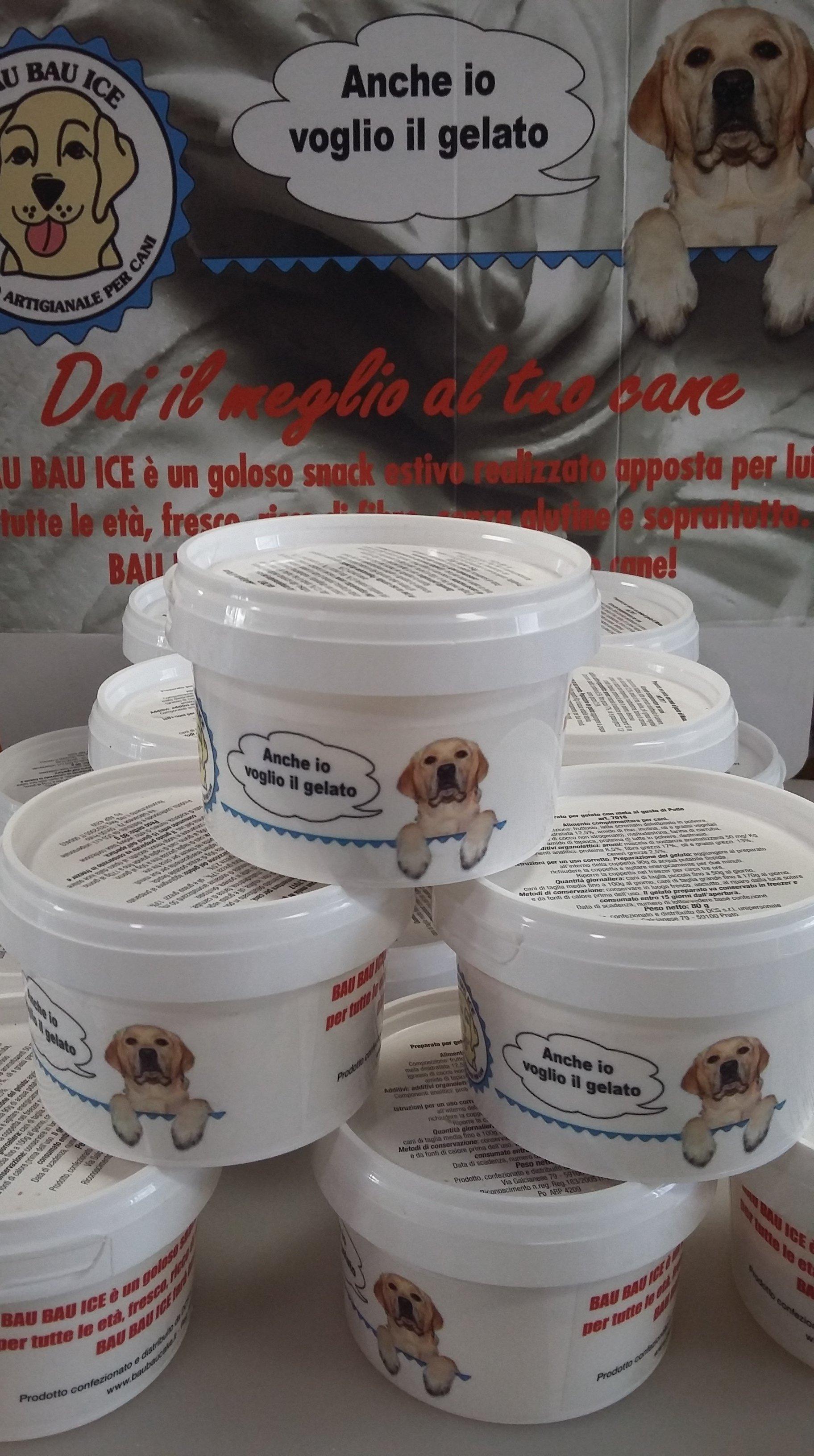 gelato per cani
