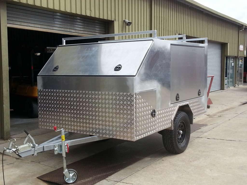custom metal trailer