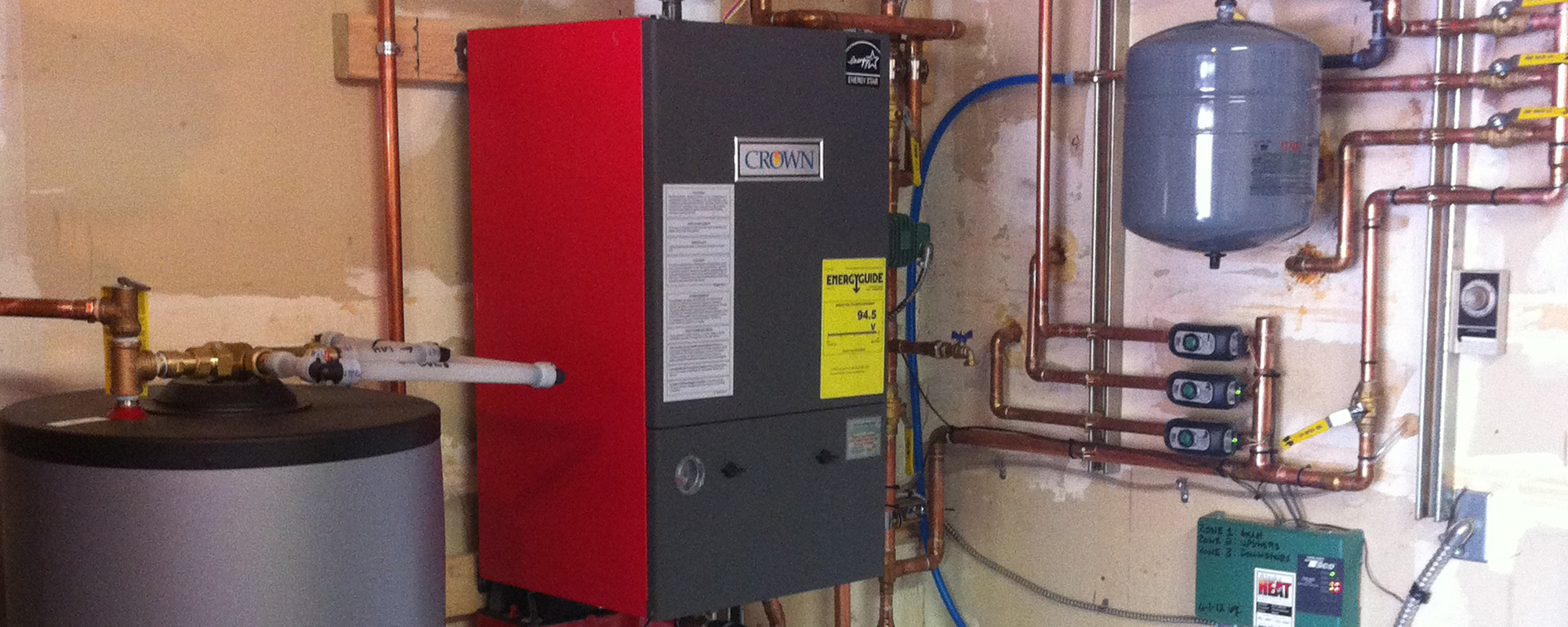 New heating system installed in Eagle River, AK