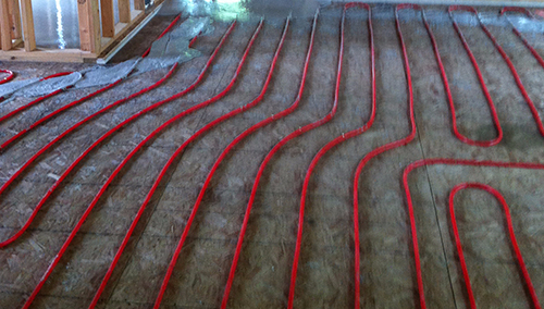 Phone support for installing heating system in Eagle River, AK