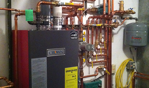 Maintenance of heating system by experts in Eagle River, AK