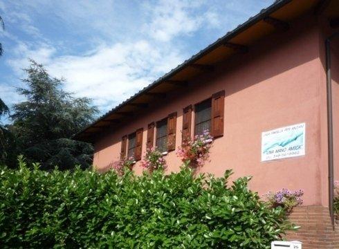 esterno della casa famiglia Mano Amica a Bologna
