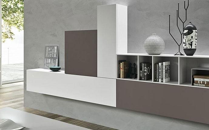 mobili per salotto della linea siloma