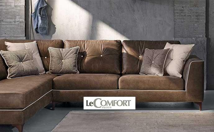 divano marrone LECOMFORT