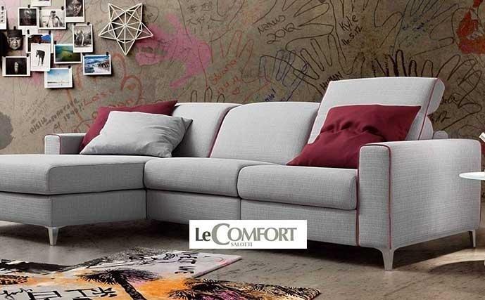 divano grigio LECOMFORT