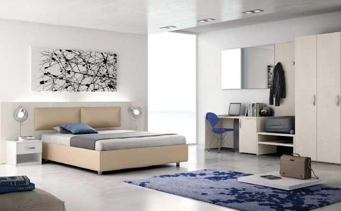 camera da letto matrimoniale per Bed and breakfast
