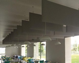 pannelli insonorizzanti in ristornate