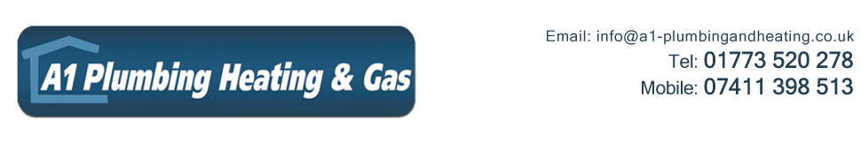 plumbing heating gas services in alfreton derbyshire a1 plumbing heating gas. Black Bedroom Furniture Sets. Home Design Ideas