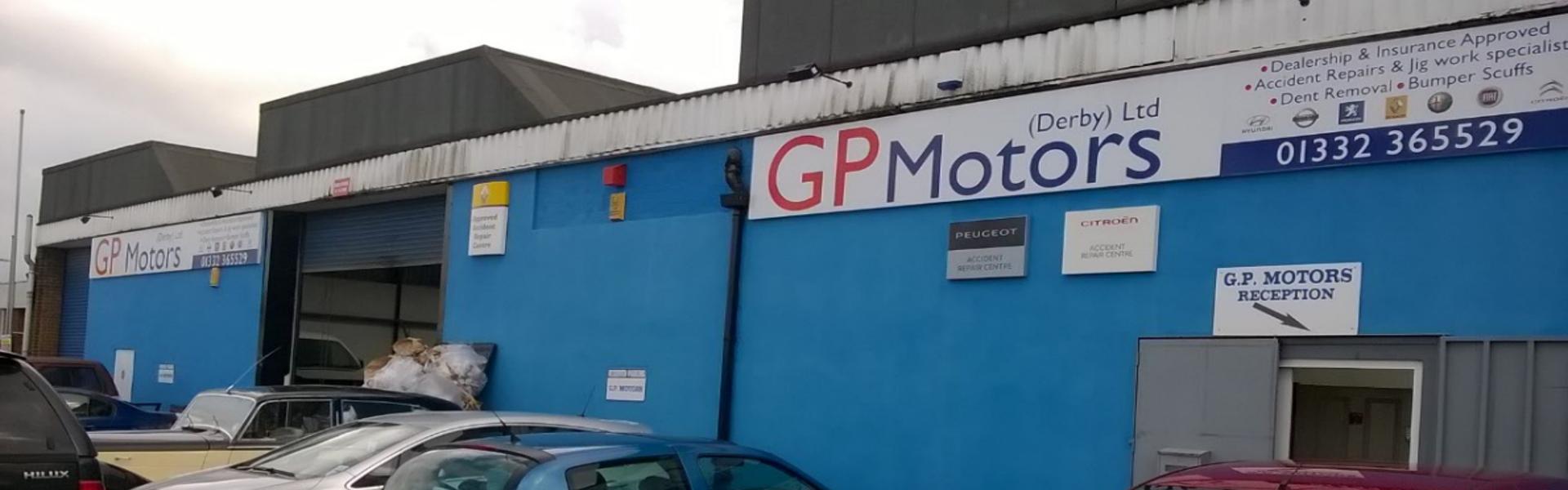 GP motors logo