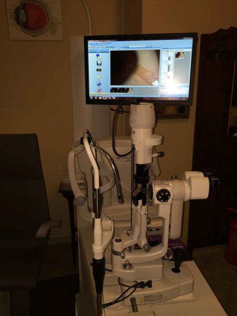 controllo della vista catania