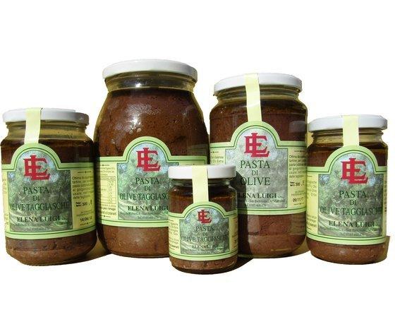 Pasta di olive Taggiasche, olive taggiasche, patè, olio extravergine,