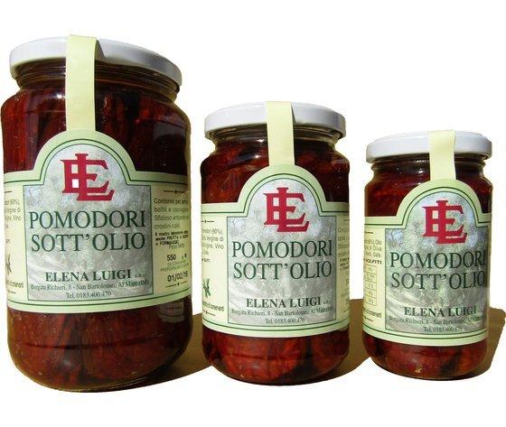 Pomodori secchi, antipasto, sottolio, prodotti tipici, elena luigi