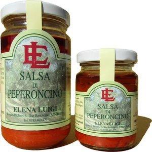 Peperoncino, salsa piccante, prodotti tipici, elena luigi