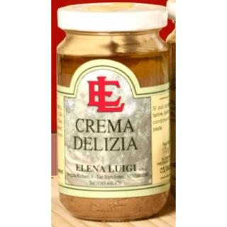 Crema delizia, carciofi, olive taggiasche,
