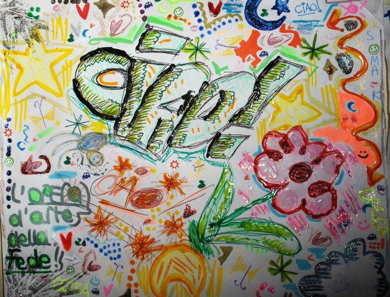 disegno a colori fatto da un bambino