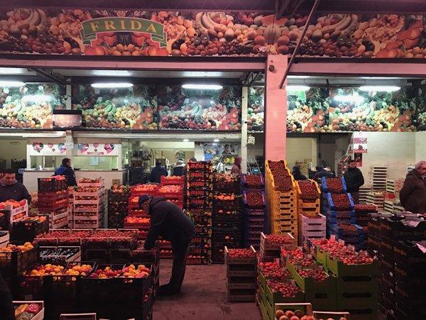 ingrosso frutta fresca e esotica