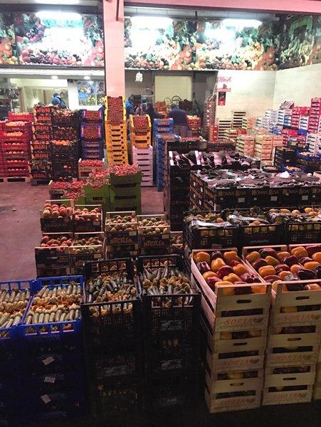 magazzino frutta e verdura