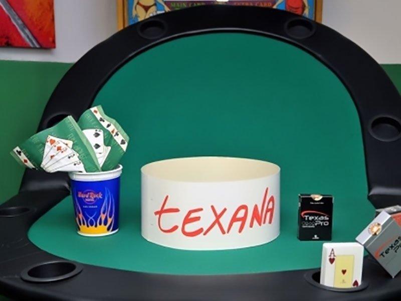 Articoli da gioco carte e fiches da gioco roma sapal - Tavolo da texas hold em ...