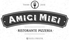 RISTORANTE PIZZERIA AMICI MIEI - LOGO
