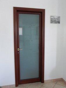 porta di vetro