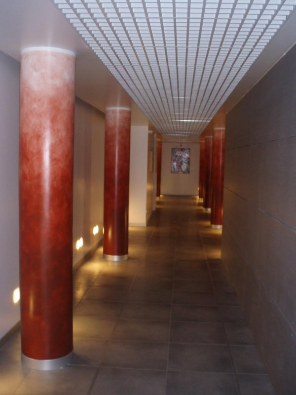 Patinatura colonne