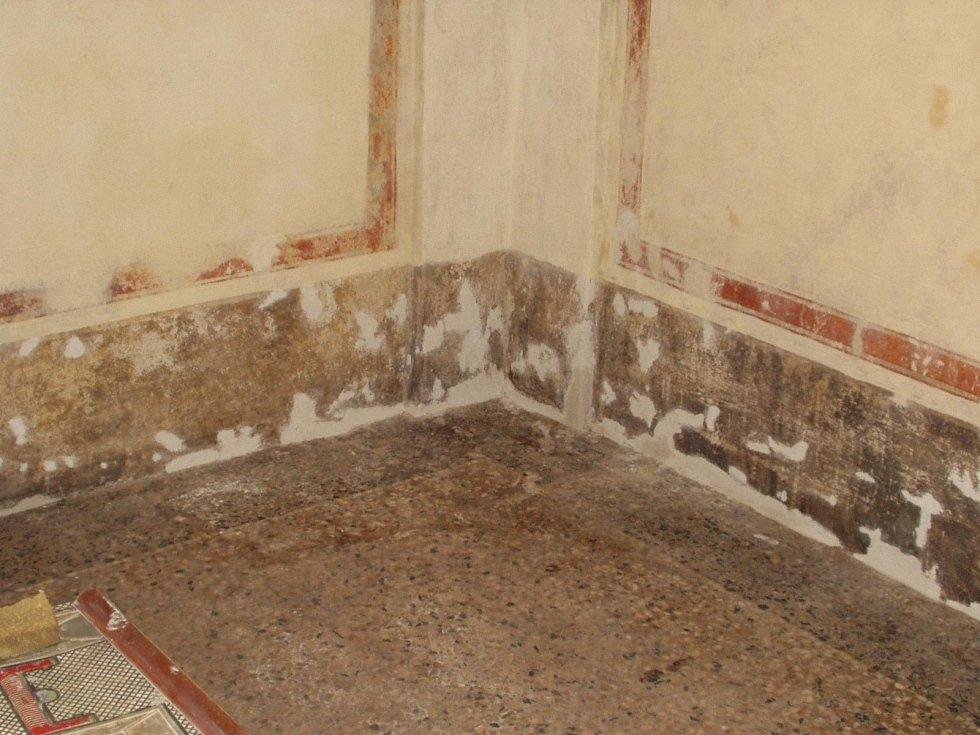 restauro dipinti murali