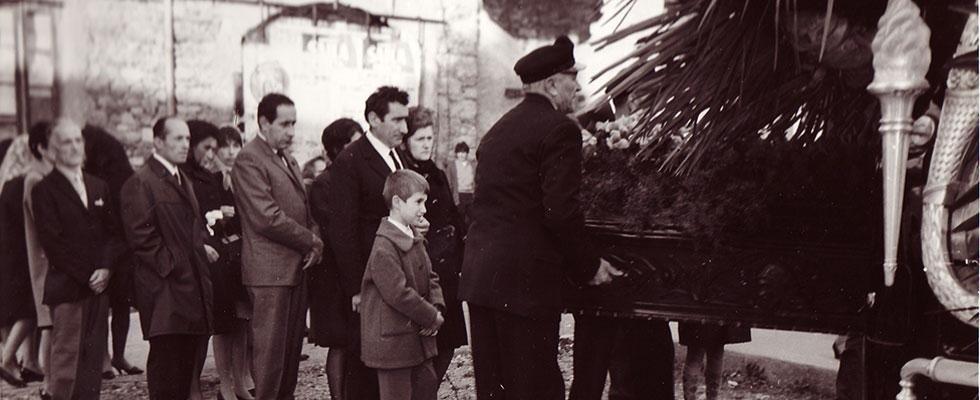 funerali da quasi settant