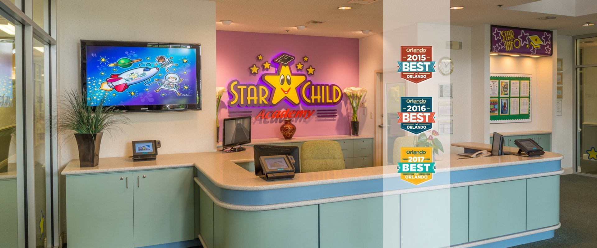 Boy Sitting at Desk in StarChild Academy's Private Elementary School Program