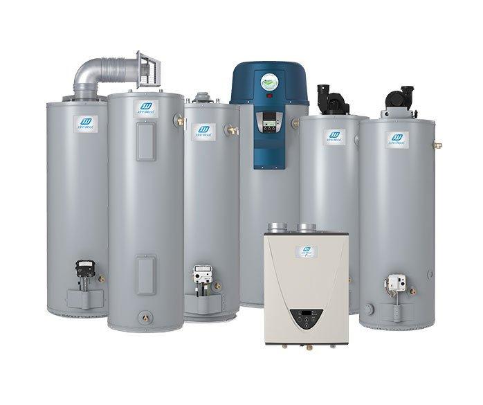 John Wood water heater tank
