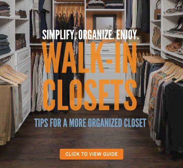 Closet Organizers, Custom Closets And Garage Organization