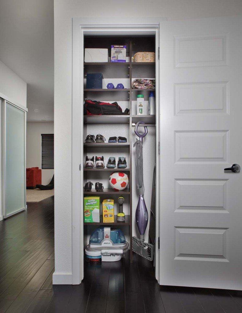 Custom Laundry Linen Utility Closet
