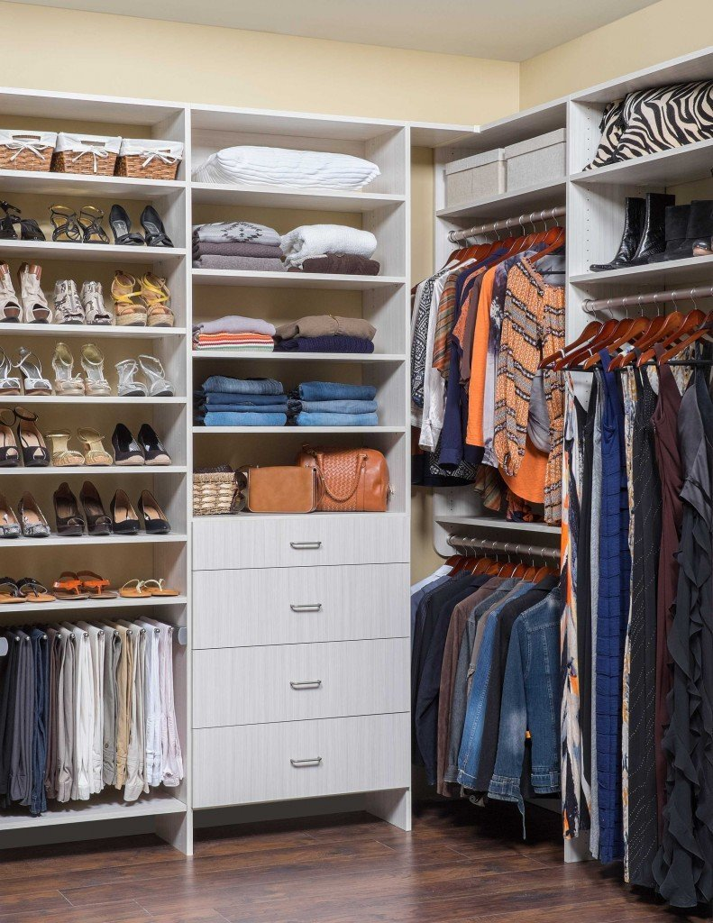 Custom Built Walk In Closet