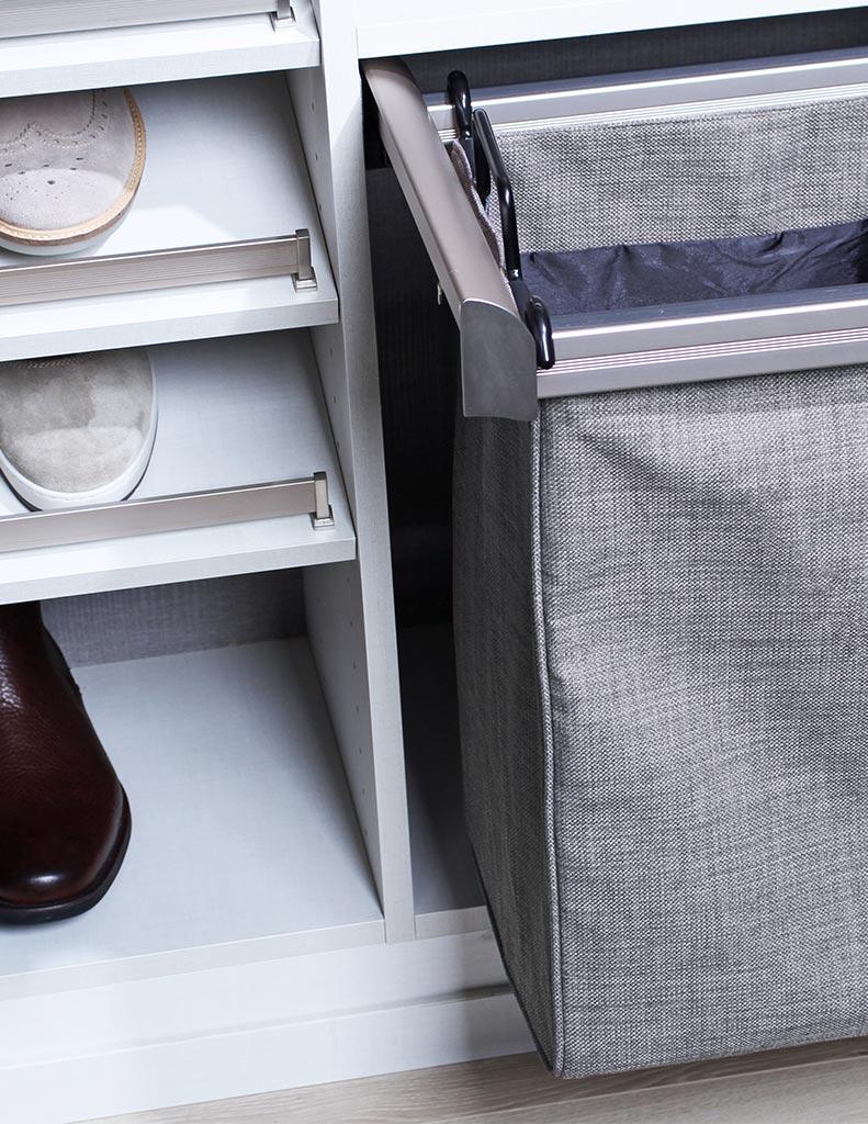 Hamper U0026 Shelving Accessory For Custom Closets