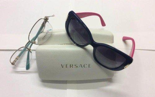 Occhiali di vedere e occhiali da sole di marchio