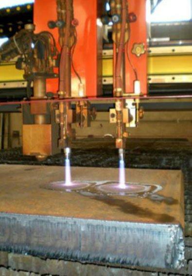 Taglio laser doppio