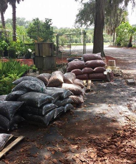 mulch delivery Gainesville, FL
