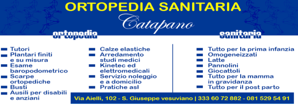 ORTOPEDIA SANITARIA CATAPANO