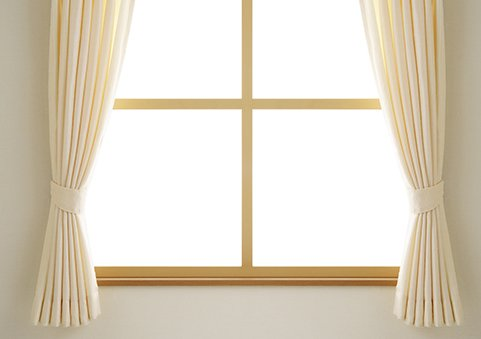 Curtains to cover the window