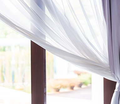 Curtain for window covering