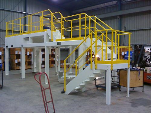 Steel mild fabrications workplace