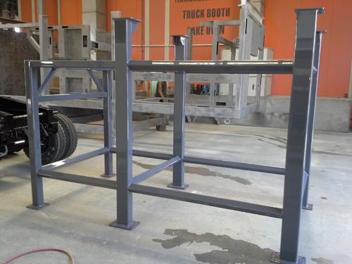 Efficient steel mild fabrications