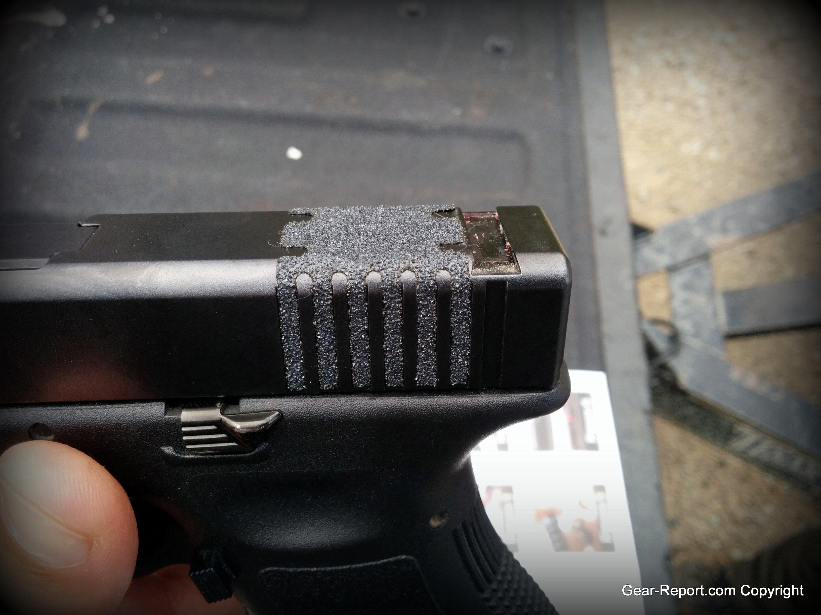 ArachniGRIP Slide Spider install on Jason's Glock 26