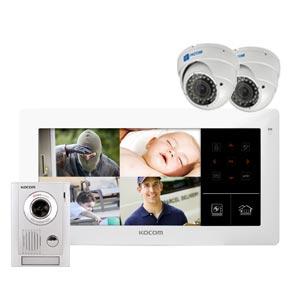 barwon security kocom kvr d510 cctv intercom kit