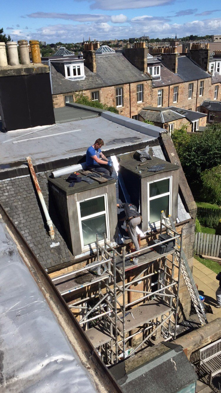 Capital Roofing Services Roofers In Edinburgh