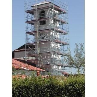 Ponteggi per restauro edifici storici