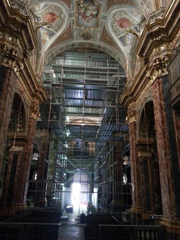 ponteggi per restauri monumentali