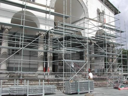 noleggio ponteggi per lavori edili