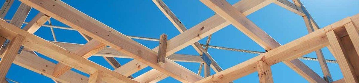 frame work house roof top Wonson Frames & Trusses