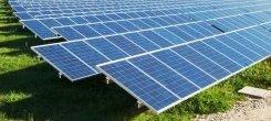 sfalci erba in campi fotovoltaici